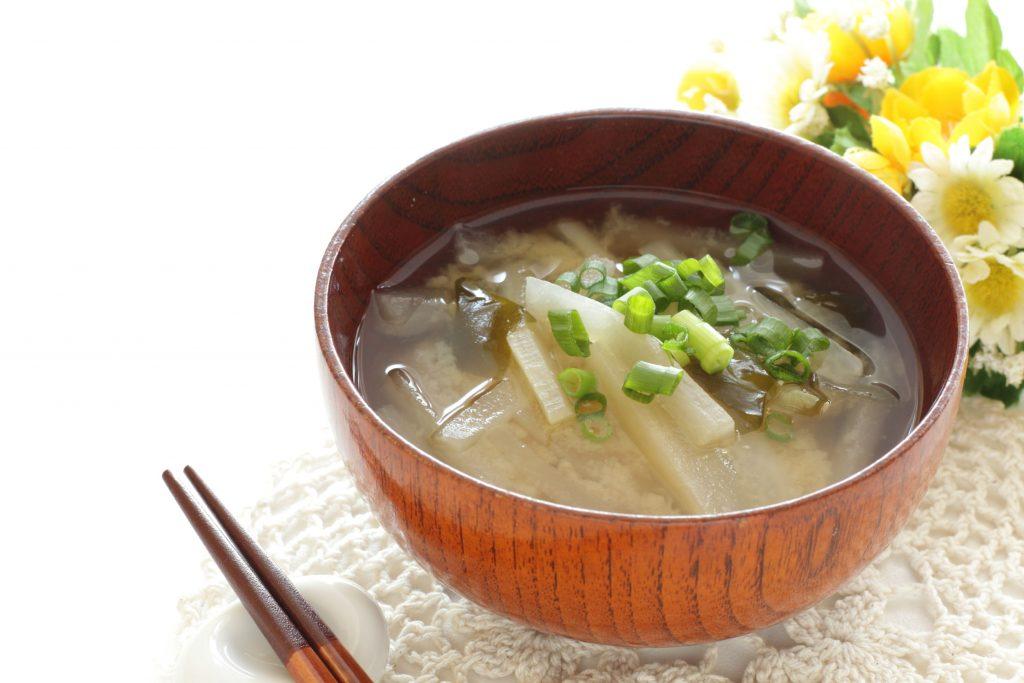 Miso groentesoep